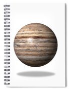 Wooden Globe Spiral Notebook