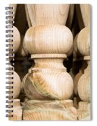 Wooden Posts Spiral Notebook
