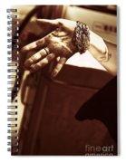 Working Hands Spiral Notebook