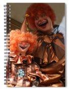 World Famous Clown From 1936 Spiral Notebook
