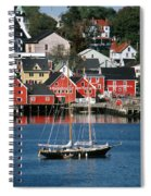World Hertitage Designated Town On Spiral Notebook