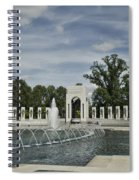 World War 2 Memorial Spiral Notebook