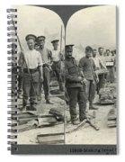World War I Bakers Spiral Notebook