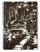 World War I Paris, 1919 Spiral Notebook
