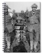 World War I: Soldiers Spiral Notebook