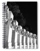 World War Pillars Spiral Notebook