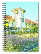 World's Fair Pavilion At Forest Park St Louis Spiral Notebook