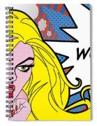 wow Spiral Notebook
