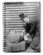 Wwi Refugee, 1918 Spiral Notebook