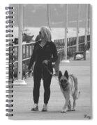 Santa Barbara Breakwater Spiral Notebook