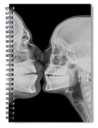 X-ray Kissing Spiral Notebook