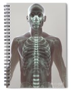X-ray Skeleton Spiral Notebook