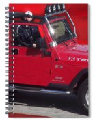 Xtreme Jeep Spiral Notebook