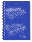 Xylophone Patent 1949 Spiral Notebook
