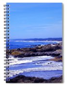 Yachats Oregon 2013 Spiral Notebook