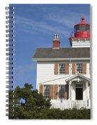 Yaquina Bay Lighthouse Spiral Notebook