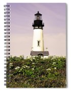 Yaquina Lighthouse In May Spiral Notebook