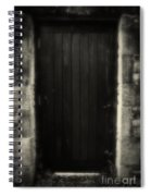 Victorian Cottage Door  Spiral Notebook