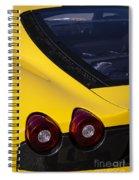 Yellow F430 Spiral Notebook