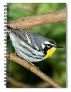 Yellow-throated Warbler Spiral Notebook