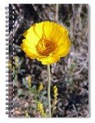 Yellow Wildflower Spiral Notebook