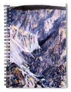 Yellowstone Canyon Yellowstone Np Spiral Notebook