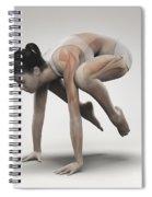 Yoga Crane Pose Spiral Notebook