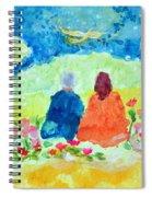 Yogananda And Swami Kriyananda Spiral Notebook