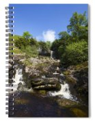 Yorkshire Dales Waterfall Spiral Notebook
