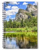 Yosemite Merced River Rafting Spiral Notebook