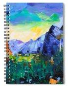 Yosemite Valley - Tunnel View Spiral Notebook