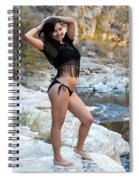 Young Hispanic Woman Spiral Notebook