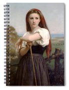 Young Shepherdess Spiral Notebook