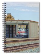 Foster Farms Locomotives Spiral Notebook