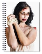 Zombie Tied Up Spiral Notebook