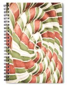 Abstract Pattern Spiral Notebook