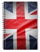 British Flag 17 Spiral Notebook