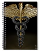 Caduceus Spiral Notebook