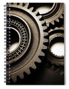 Cogs No14 Spiral Notebook