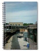 Cta's Retired 2200-series Railcar Spiral Notebook