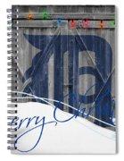Detroit Tigers Spiral Notebook