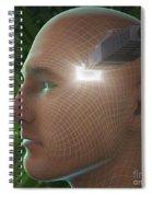 Digital Connection Spiral Notebook