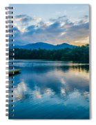 Lake Santeetlah In Great Smoky Mountains North Carolina Spiral Notebook