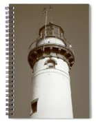 Lighthouse - Presque Isle Michigan Spiral Notebook