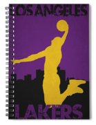 Los Angeles Lakers Spiral Notebook
