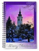 Christmas Card 23 Spiral Notebook