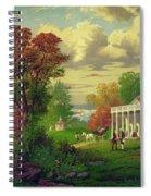 Mount Vernon Spiral Notebook