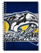 Nashville Predators Spiral Notebook