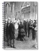 Queen Victoria (1819-1901) Spiral Notebook