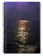 Rays Of Light Shimering Over The Waters Spiral Notebook